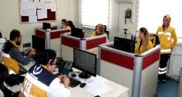 112 Acil Çağrı Merkezine gelen aramalar pes dedirtti