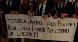 """HEKİM DIŞI SAĞLIK ÇALIŞANLARINA """"YARDIMCI VE ELEMAN"""" DİYENLERİ KINIYORUZ"""
