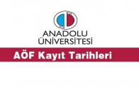 AÖF 2018-2019 Öğretim Yılı Kayıt Tarihini Açıkladı