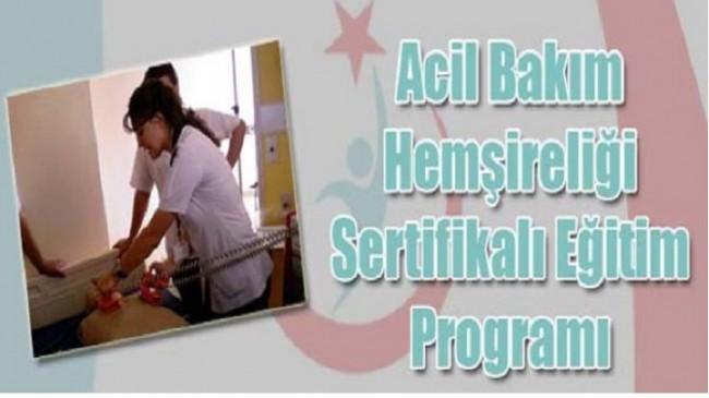 Acil Bakım Hemşireliği Sertifikalı Eğitim Programı