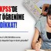 Alt öğrenimden KPSS'ye giremeyen adaylar mağdur