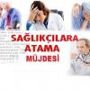 Atama bekleyen sağlıkçılara müjde!! Marta 3 bin 900 sağlık personeli alınıcak