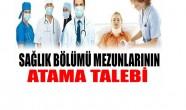 Sağlık personeli alımında tasarruf yapılamaz