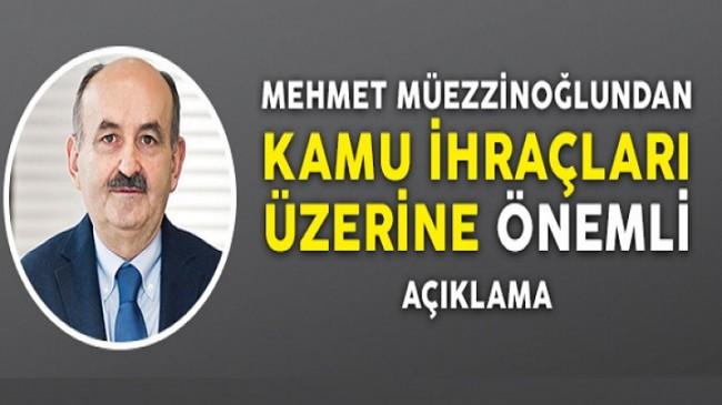 Bakan Müezzinoğlu kamuda ihraçlar hakkında açıklama yaptı