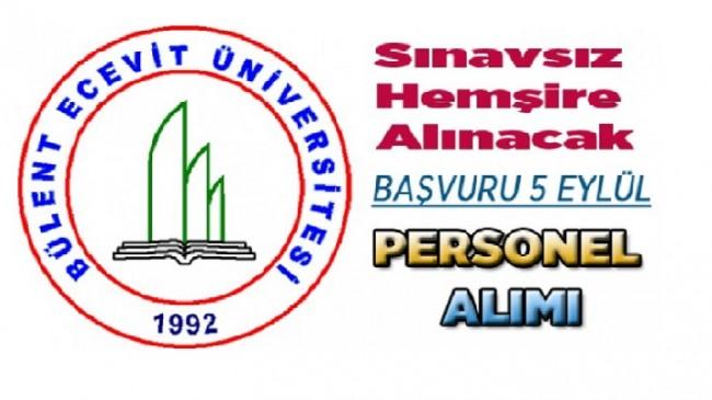 Bülent Ecevit Üniversitesi Sözleşmeli hemşire alımı