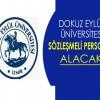 Dokuz Eylül Üniversitesi Sözleşmeli Sağlık Personeli Alım İlanı
