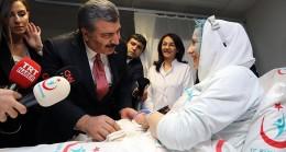 Sağlık Bakanı Fahrettin Koca; Ebelerin görev tanımlarını yeni dönemde genişletmek istiyoruz