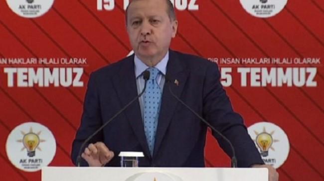Erdoğan: 657 memur işçi ayrımı yapmamalı