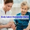Evde Sağlık Hemşireliği Sertifikalı Programı duyurusu
