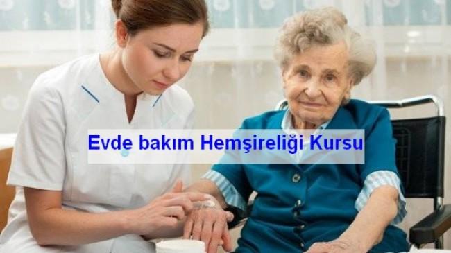 Evde bakım Hemşireliği Sertifika Programı Duyurusu