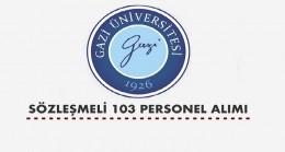Gazi Üniversitesi 103 Sağlık Personeli Alacak