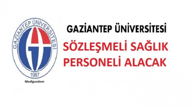 Gaziantep Üniversitesi Sağlık Personel Alım İlanı