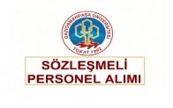 Gaziosmanpaşa Üniversitesi Hemşire ve Ebe Alım İlanı