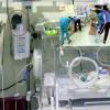 Hastanede skandal! Yeni doğan servisinde fare kovaladılar