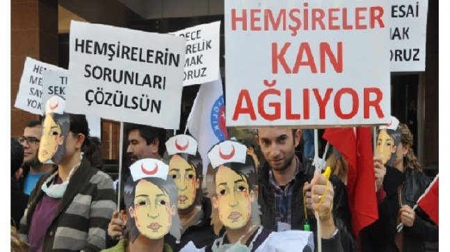 Hemşirelerin, Hemşireler Gününde Sağlık Bakanından Talepleri!!