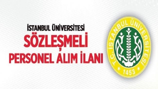 İstanbul Üniversitesi Sağlık Personeli Alım İlanı