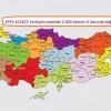KPSS 2018/5 Yerleştirmesinde 2.000 Ebenin İl Bazında Dağılımı