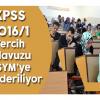 2016/1 KPSS Tercih Kılavuzu ÖSYM'ye gönderildi