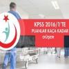 KPSS 2016/1 de puanlar kaça kadar düşer ?