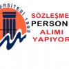 Mersin Üniversitesi sağlık personeli alım ilanı
