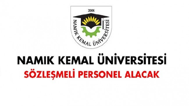 Namık Kemal Üniversitesi Sağlık Personeli Alım İlanı