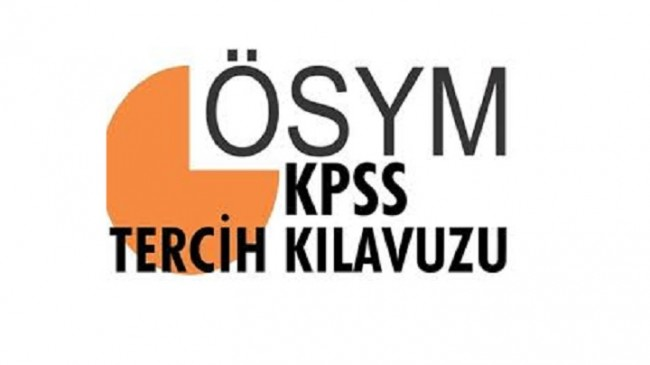 ÖSYM, KPSS 2017/1 Tercih Kılavuzunu Yayımlandı
