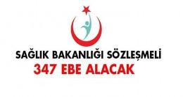 Sağlık Bakanlığı 347 Ebe Alacak