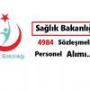 Sağlık Bakanlığı 4984 sözleşmeli personel alacak