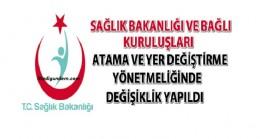 Sağlık Bakanlığı Atama ve Yer Değiştirme Yönetmeliği (30.09.2016)