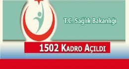 Sağlık Bakanlığı İl İl Sözleşmeli Personel Sayısı Açıklandı
