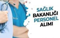 Sağlık Bakanlığı Sağlık Personel Alımı Sağlık Personel Alımı