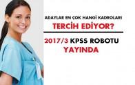 Sağlık Personel Alımı 2017/3 KPSS Tercih Robotu