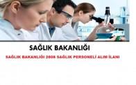 KPSS-2016/6 İle Sağlık bakanlığı sağlık personeli alım ilanı
