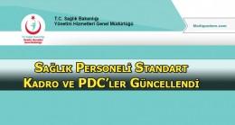 Sağlık bakanlığı Personel Dağılım Cetveli (PDC) Güncel Hali