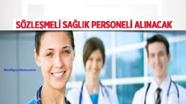 Sağlık Bakanlığı Sözleşmeli Sağlık personeli Alımı Hakkında