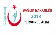 Sağlık Bakanlığı Sağlık Personel Alımı 2018