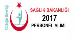 Sağlık personeli alımı 2017