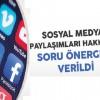 Sağlıkta sosyal medya nedeniyle soruşturma açılan personel sayısı