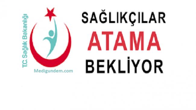 Sağlıkçılar Ağustos da sözleşmeli Atama Bekliyor