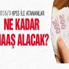KPSS 2016/3 ile yerleşenler ne kadar maaş alacak ?
