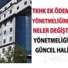 Türkiye Kamu Hastaneleri Kurumuna Bağlı Sağlık Tesislerinde Görevli Personele Ek Ödeme Yapılmasına Dair Duyuru Ek Ödeme Yönetmelik Değişikliği 10.08.2015