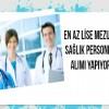 Üniversiteler en az lise mezunu çok sayıda sağlık personeli alımı yapacak