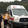 Zonguldak'ta hasta taşıyan ambulans kaza yaptı