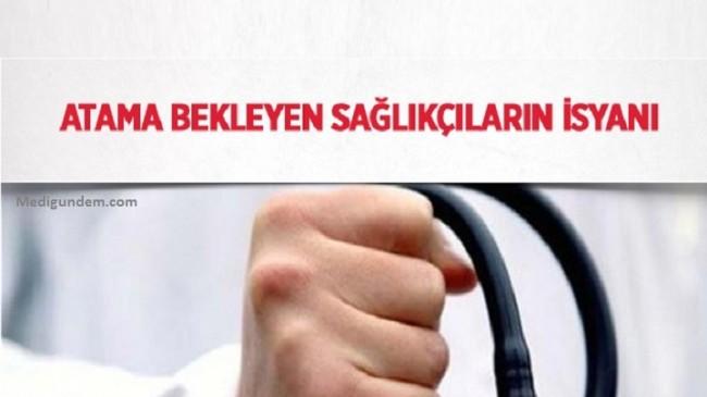 Atama bekleyen sağlıkçılar branş dağılımına tepkili