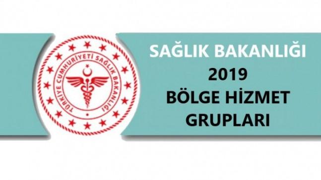 Sağlık Bakanlığı 2019 Mayıs- Haziran Bölge Hizmet Grupları