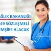 Sağlık Bakanlığı 1849 Sözleşmeli Hemşire alacak