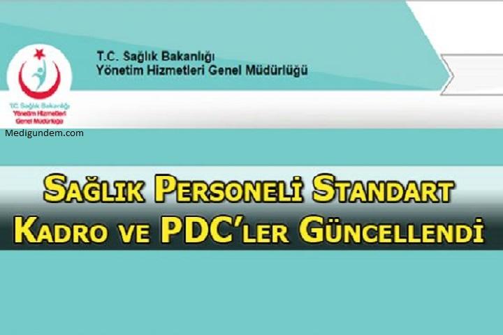 Hastanelerin Personel Dağılım Cetveli PDC Güncellendi