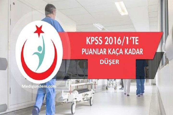 KPSS de puanlar kaça kadar düşer