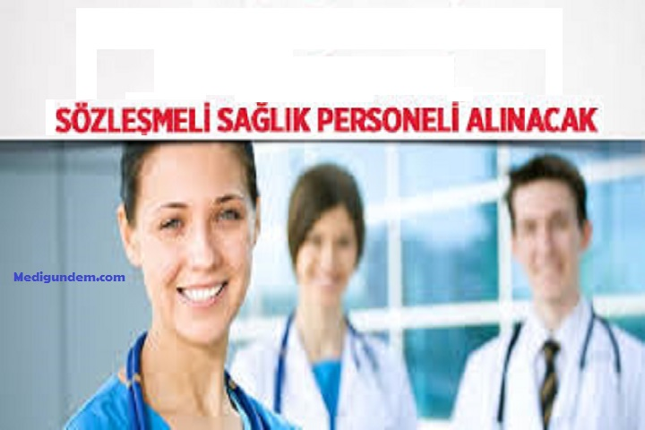 Sağlık bakanlığı, Sağlık personeli Alımı, Sözleşmeli personel alımı, Sağlık personel alımı ne zaman